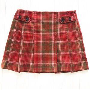 Gap Plaid Pleated Schoolgirl Kilt SZ 8